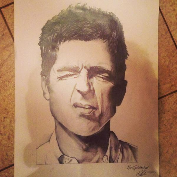 Noel Gallagher by BenRyder95